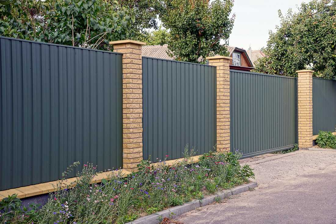 Bankstown Colorbond Fence and Gate